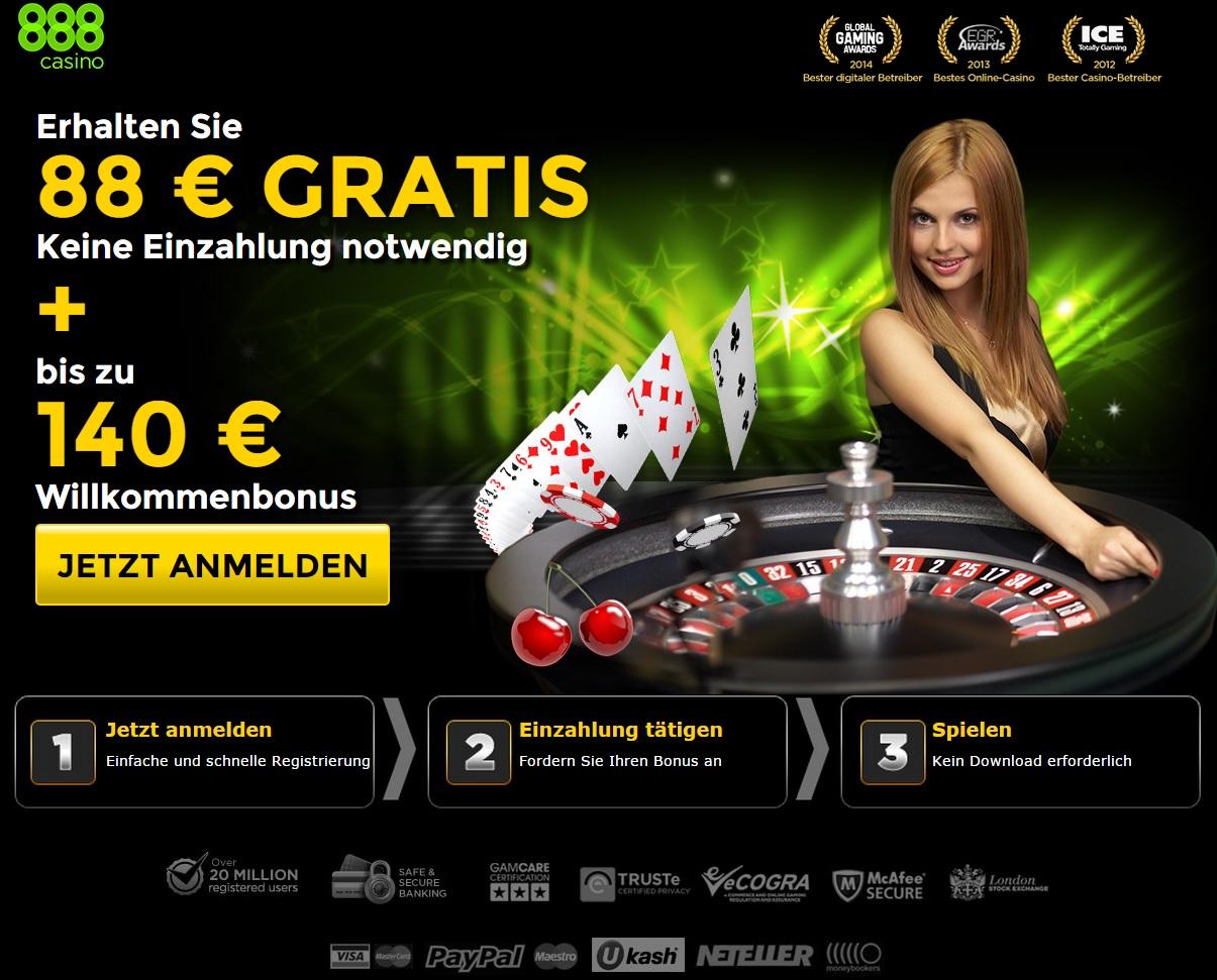 casino 888 sofort spielen