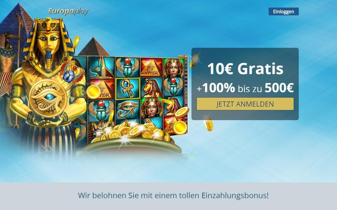 Online geld gewinnen Europaplay 10€