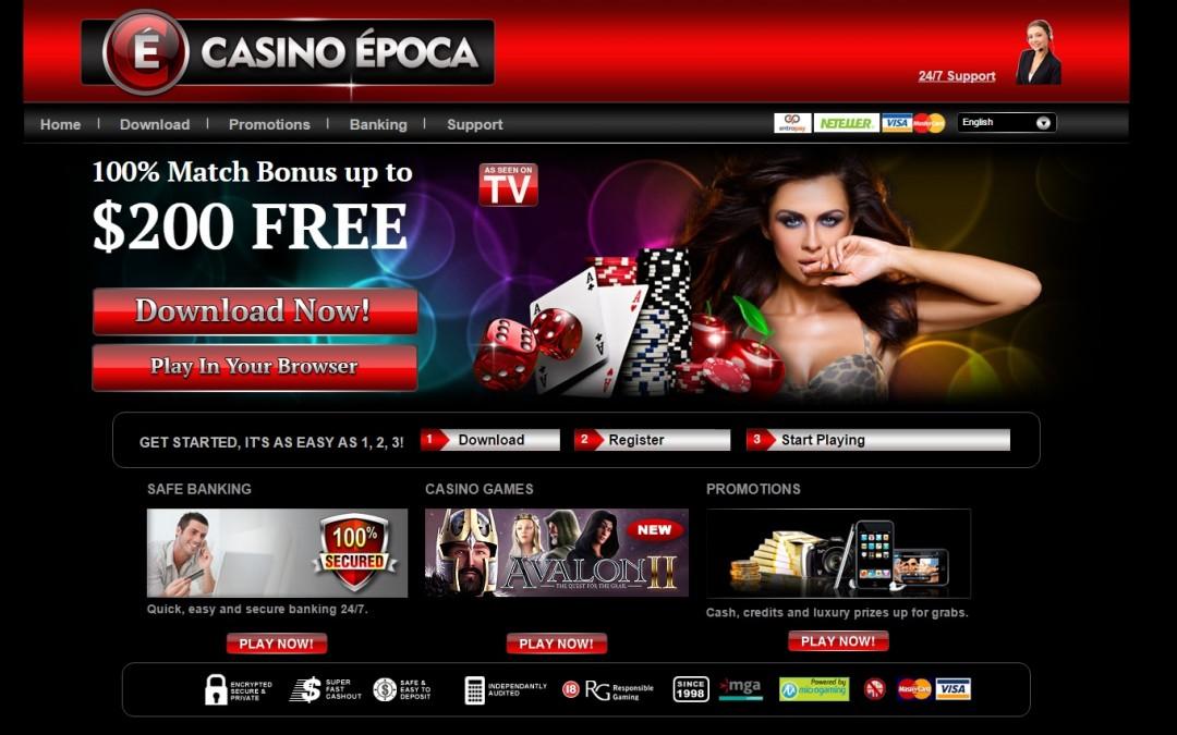 época casino bewertung | ohneeinzahlung.de