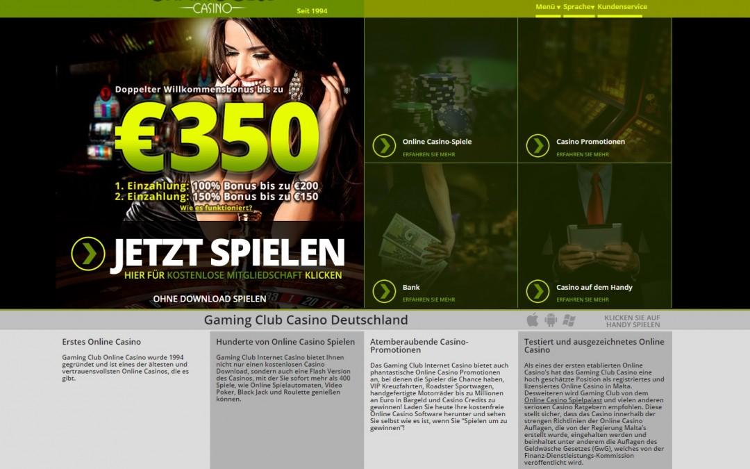 Gaming Club Casino bewertung   ohneeinzahlung.de