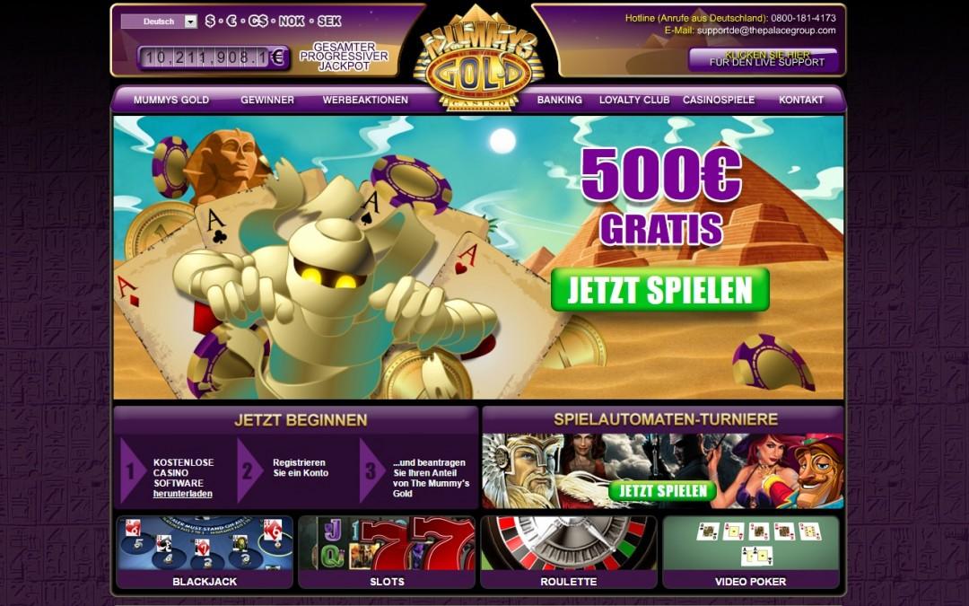Mummys Gold casino bewertung | ohneeinzahlung.de