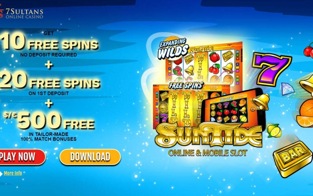 7Sultans Casino 30 gratis drehungen ohne einzahlung