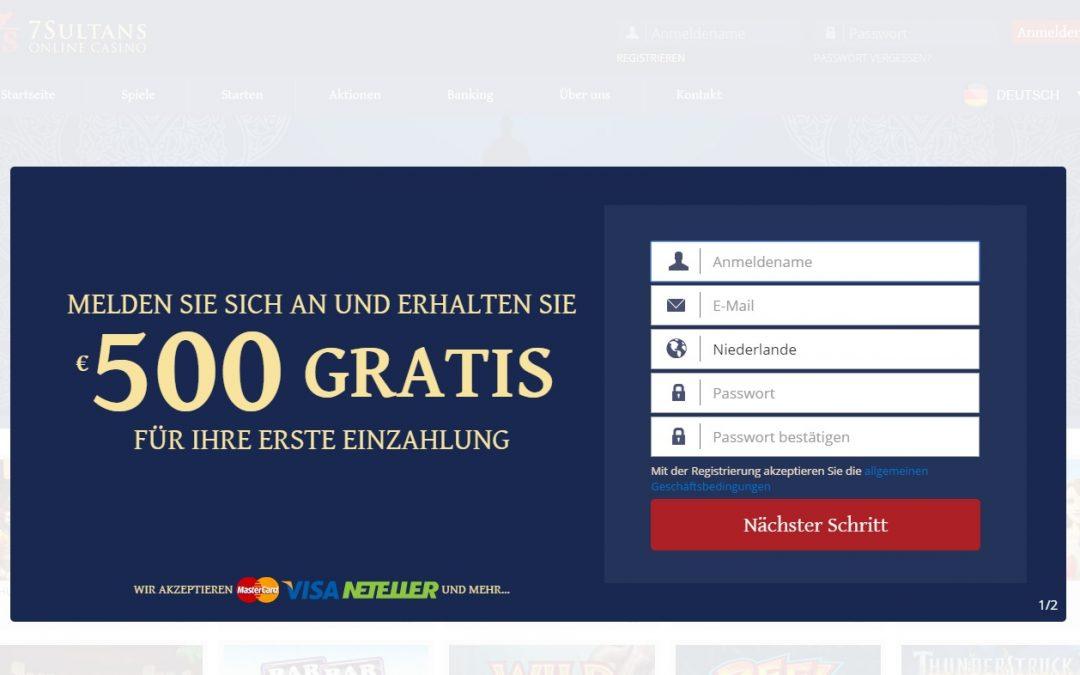 7Sultans Casino bewertung | ohneeinzahlung.de