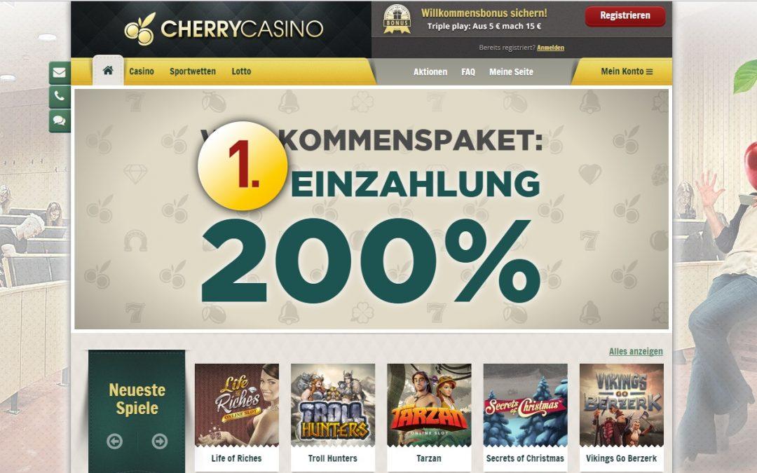 Cherry Casino bewertung | ohneeinzahlung.de