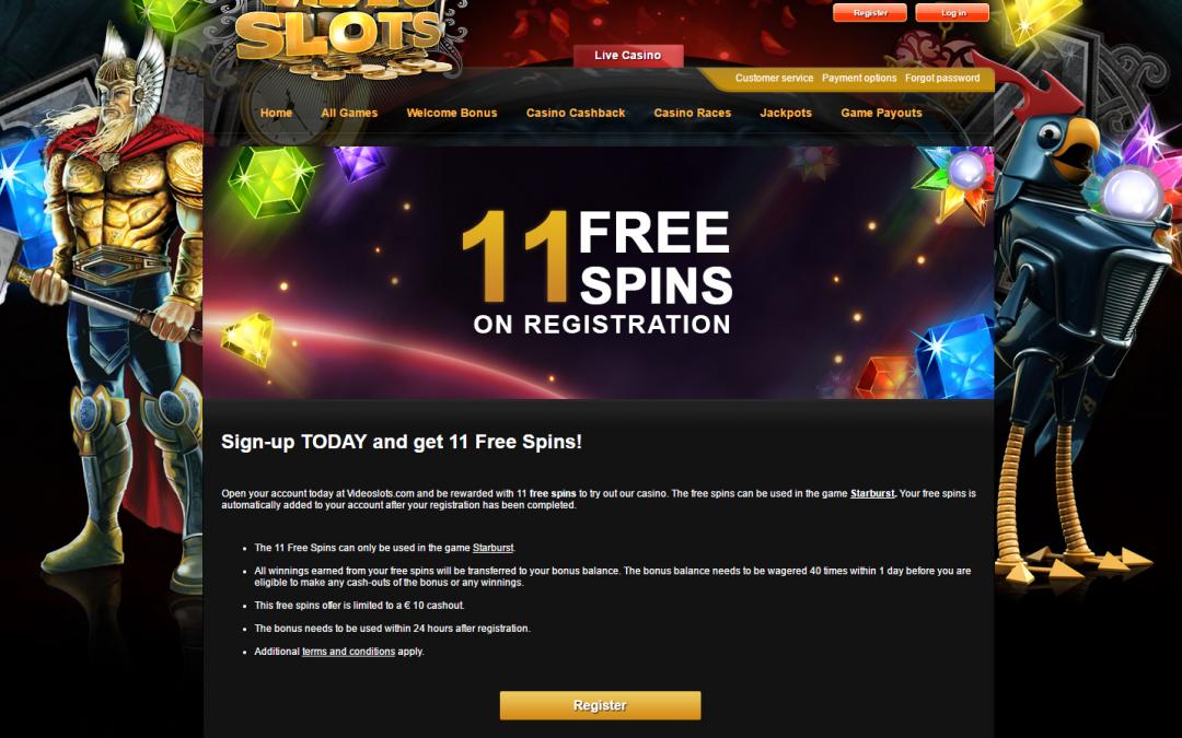 Video Slots 11 freie spielen Starburst keine einzahlung nötwendig