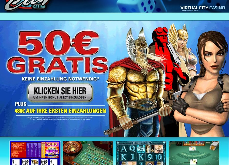Virtual City Casino 50 euro gratis casino spielen