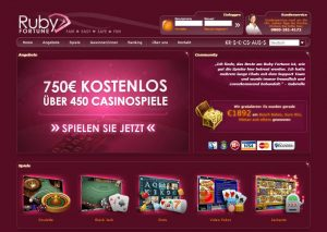 Ruby fortune deutsche sprache casino