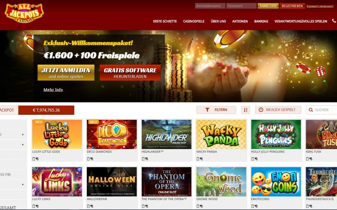 bewertung online casinos